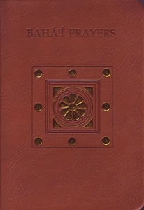 Picture of Bahá'i  Prayers New leather edition
